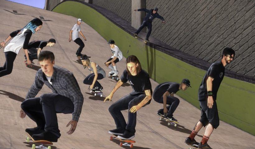 Image d'un jeu de skate