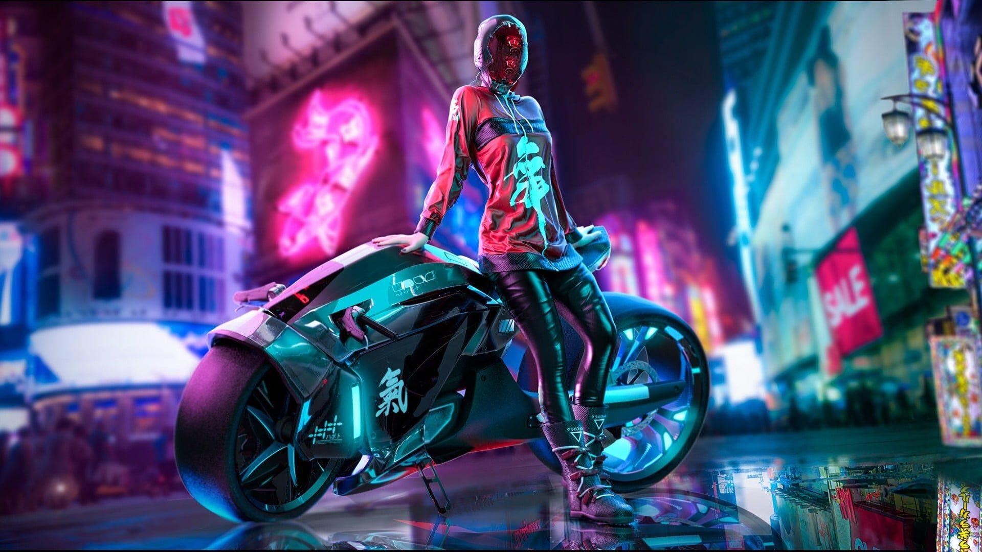 jeux vidéo cyberpunk